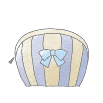 Cosmetics _ Pouch (Blue)