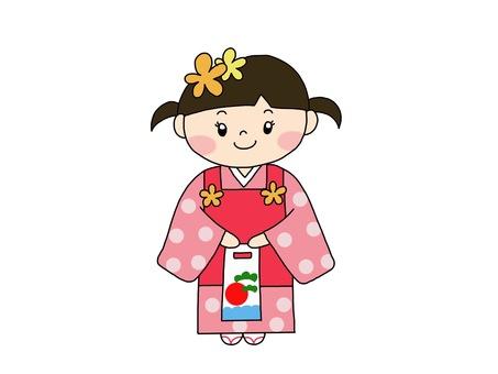 Shichigosan 3 years old