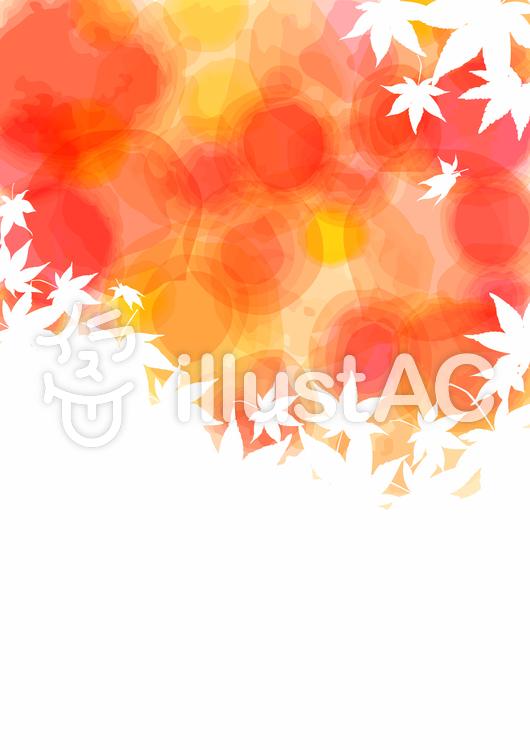 紅葉背景01のイラスト