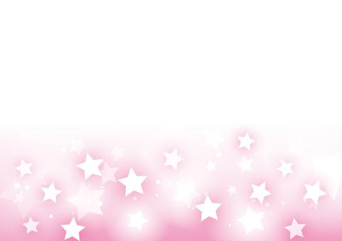 キラキラ光る星の背景02