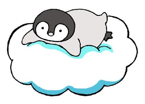 A penguin chick on a cloud 2