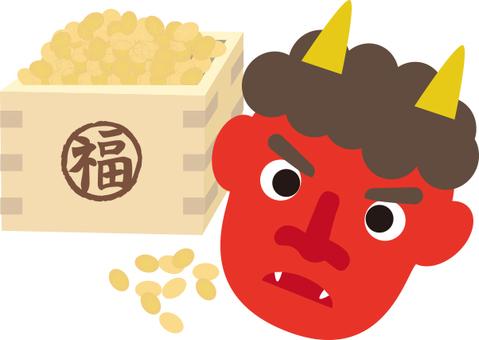 紅色惡魔和豆類