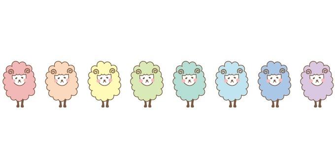 2015 Sheep front 3 columns