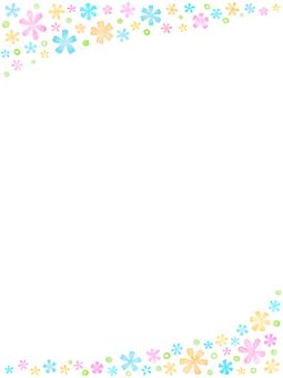 Flower Background · Frame B1