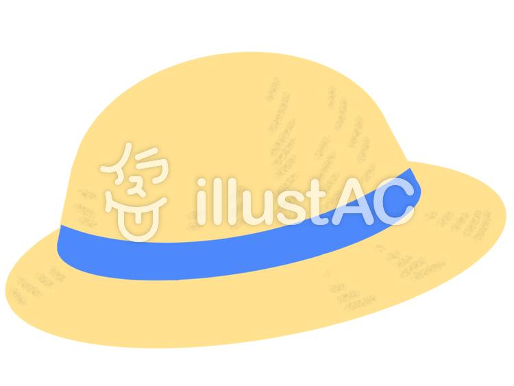 麦わら帽子4イラスト No 167599無料イラストならイラストac
