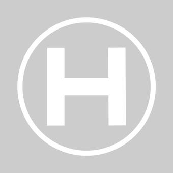 Heliport (white)