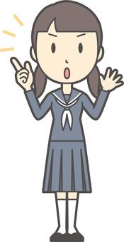 初中水手女人-296-全身