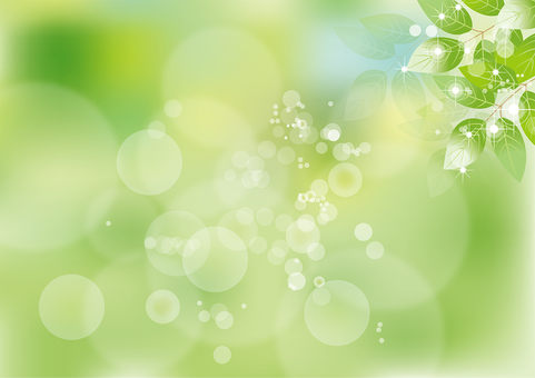 Glittering leaves 3