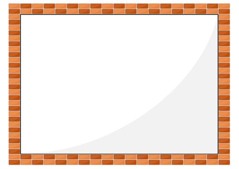 Brick frame frame