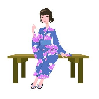 Yukata ladies