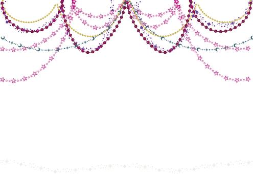 Chandelier-like frame decoration 3