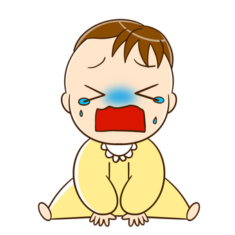 Baby crying out