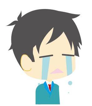 上班族 - 男人 - 哭
