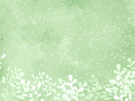 葉框03 /綠色