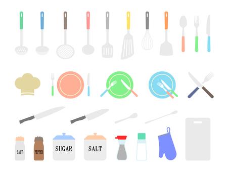 Kitchen set 1 color