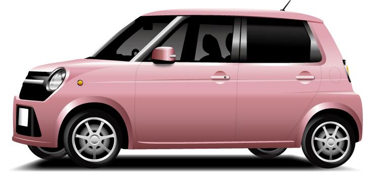 Light car (pink)