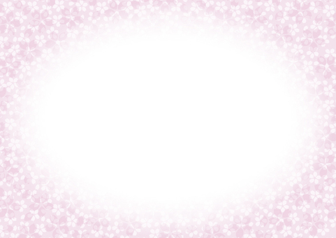 Cherry blossom pattern (horizontal type)