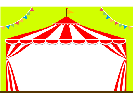 Circus cottage frame