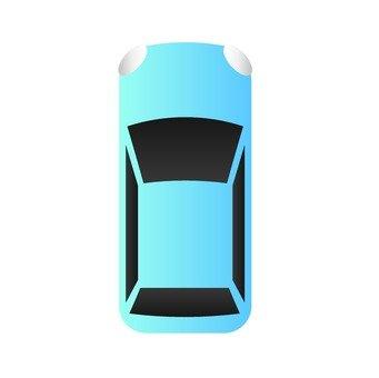 汽車(藍)
