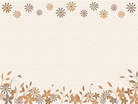 Flower and leaf frame 2