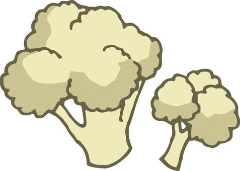 Vegetables (2 cauliflowers)
