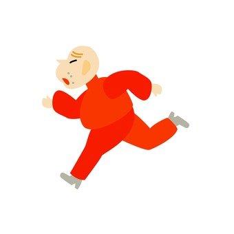Grandfather's running