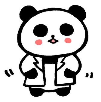 White coat panda
