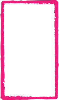 Pink brush frame