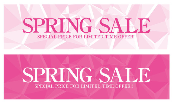 Spring Freshers SALE Banner