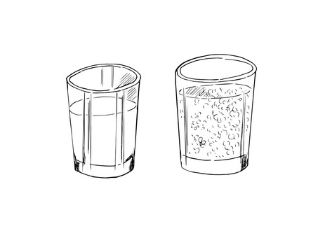 Cup with water 2