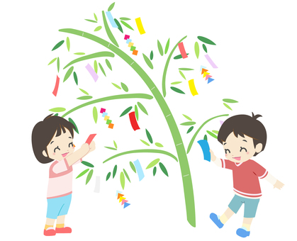Annual event - Tanabata decoration 3