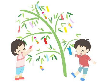 年中行事 - 七夕飾り3