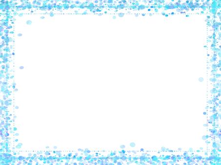 Dot frame 5 (blue)