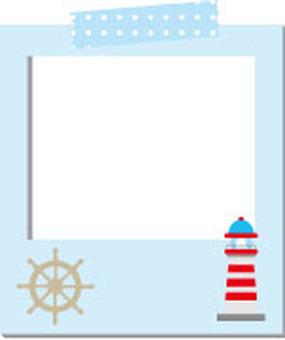 Polaroid marine frame