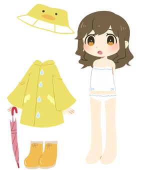 Dress up illustration ③