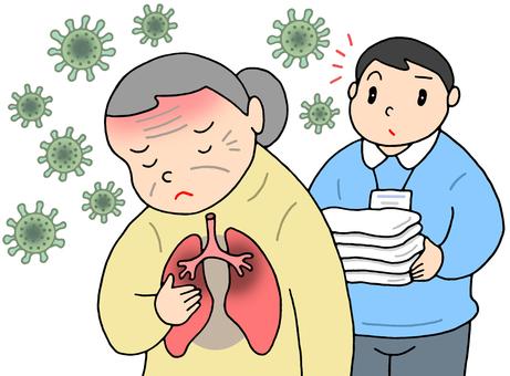 노인의 바이러스 감염