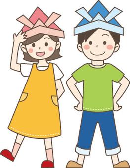 Children and helmets