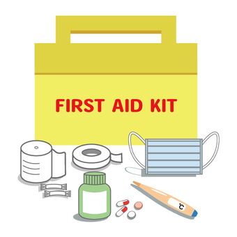 Image of placed medicine · First aid kit