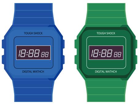 Digital watch 6