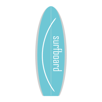 Outdoor equipment (surfboard)