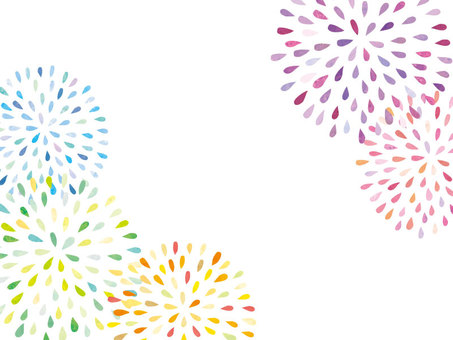 Fireworks handwriting frame 01