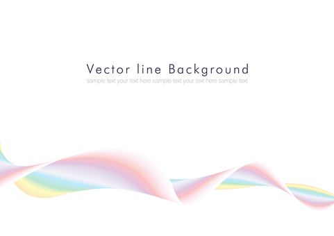 Vector abstract background rainbow 02