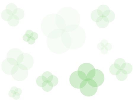 Healing green background