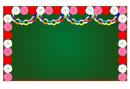 Blackboard Decoration