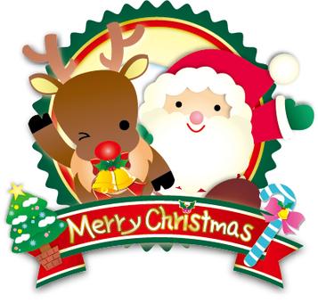 Santa Claus Emblem