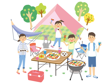 Barbecue with family_7