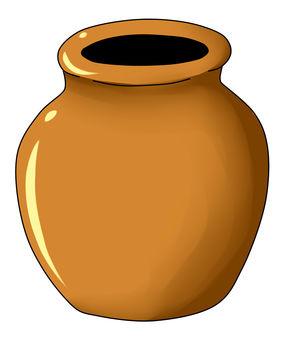 Pot usually