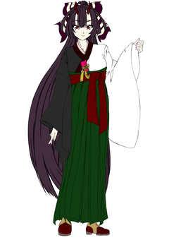 Kashima Maehi, ผู้หญิง Hakama 3