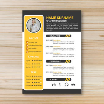 Business template resume 10
