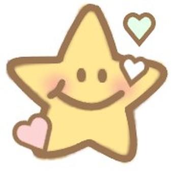 Star heart cute adult cute